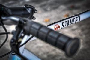Stance Afterglow fixie bikes handlebars