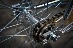 Stance Chrome fixed gear bicycle chain